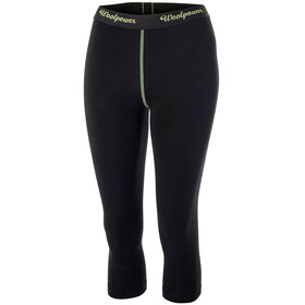 Woolpower Lite 3/4 Long Johns Woman Black